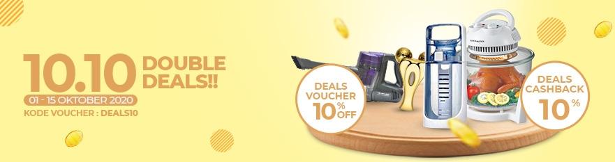 10.10 Double Deals!!