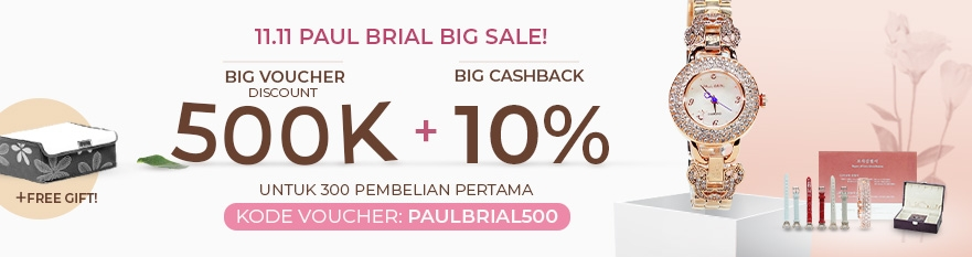 11.11 Paul Brial Big Sale