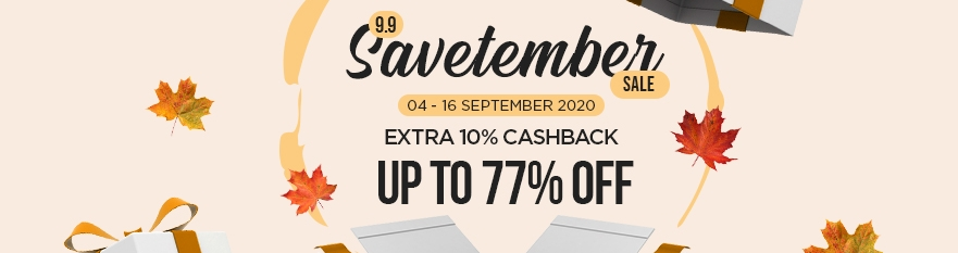 9.9 Save-tember Sale