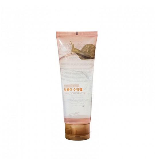 Jeju Snail Soothing Gel 200ml