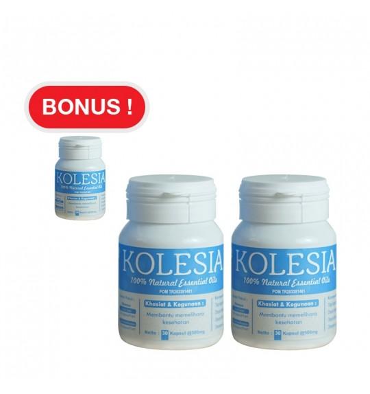 KOLESIA Suplemen Penurun Kolesterol 2+1