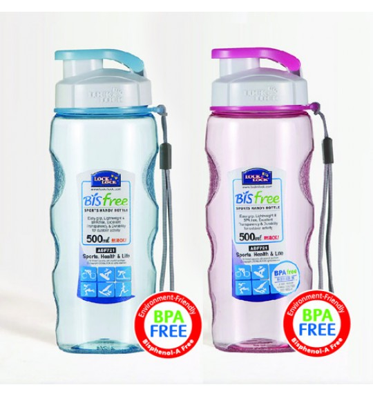 Lock&Lock Bisfree Sport Color Bottle (2Pcs)