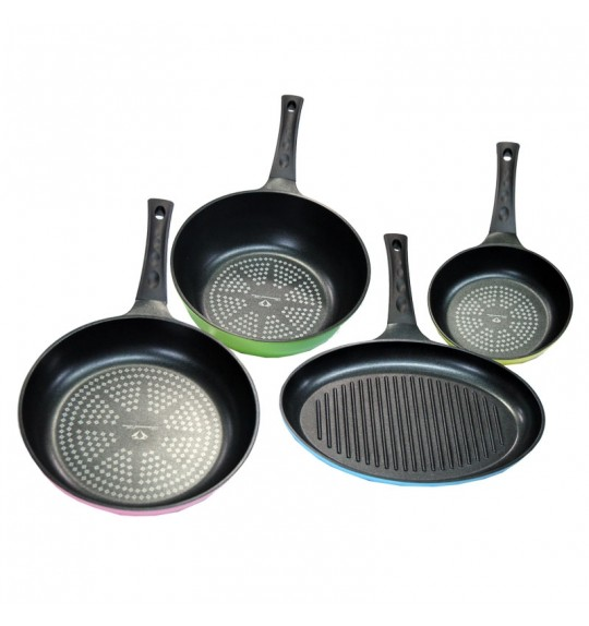 CHEFWAY Big Size Pan 4 Pcs