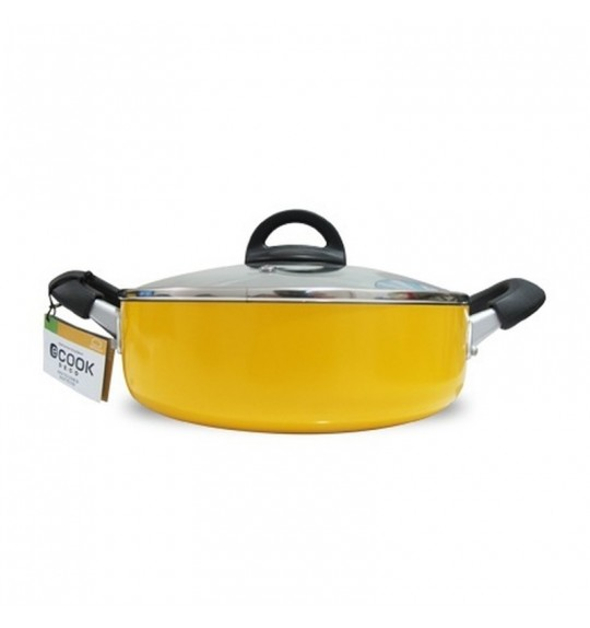 Lock & Lock Ecook Deco Low Casserole 24cm