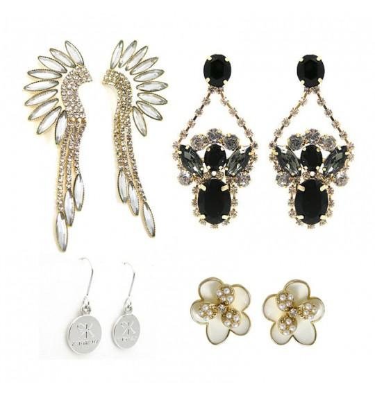 KATENKELLY Celeb Style Earring 3 + Gift Set