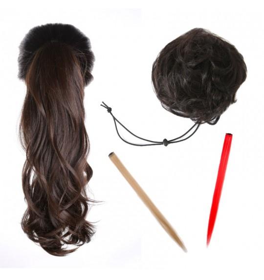 PINKAGE Fashion Wig 4 pcs + Bonus