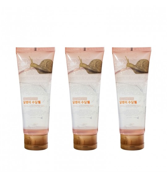 Jeju Snail Soothing Gel 200ml (3pcs)