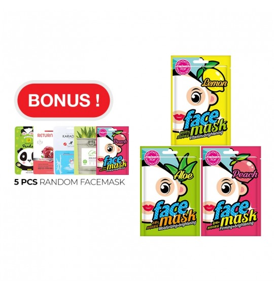 BLINGPOP Facemask (Buy 10 Free 5)