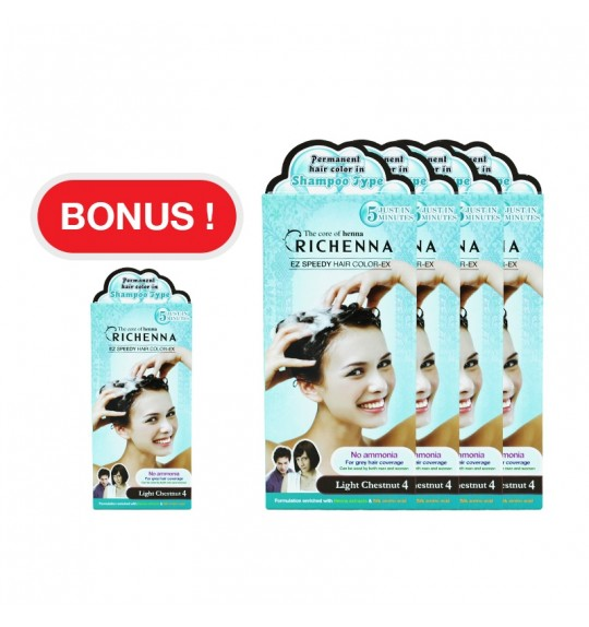 RICHENNA EZ Speedy Hair Color 4 + 1