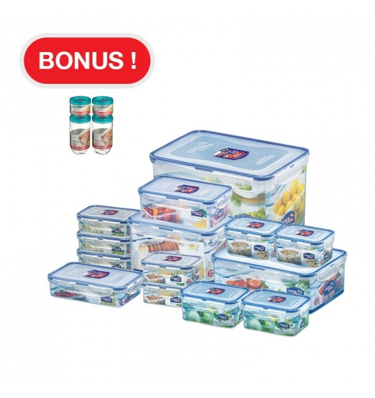 LOCK & LOCK Classic Container Set 18Pcs