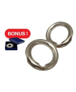 POWER MAN Health Rings Germanium 3Pcs